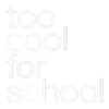 Too cool for school - White