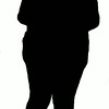 obese silhouette2