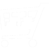 Shopping cart (2) - white