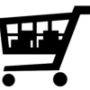 Shopping cart (2) - black